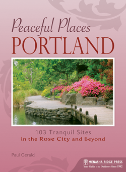 Peaceful Places Portland Book Cover